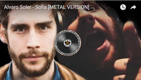 Alvaro Soler – Sofia [versione metal]