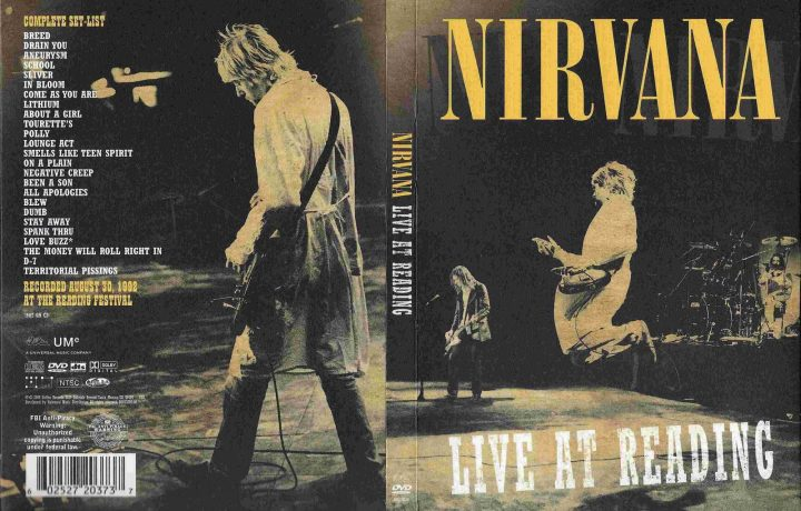 I Nirvana e il ballerino misterioso – Live at Reading