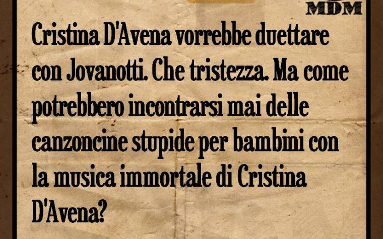 Cristina D'Avena duetta con Jovanotti