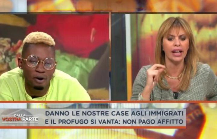 Bello FiGo vs Alessandra Mussolini