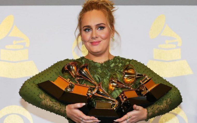 Adele 5 Grammy in una volta sola. Stracciato il record di Morgan