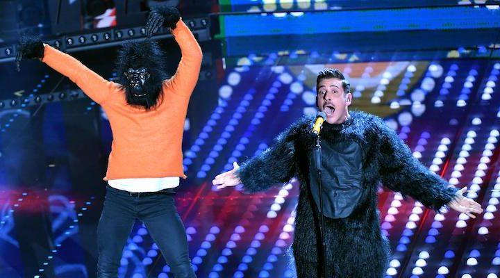 Sanremo 2017: vince un gorilla. Meglio dei soliti cani.