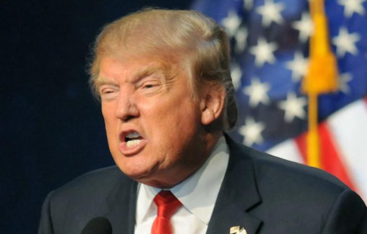 """[ULTIMA ORA] Offensiva di Trump contro i prodotti europei per fermare il tour americano de """"Il Volo""""."""