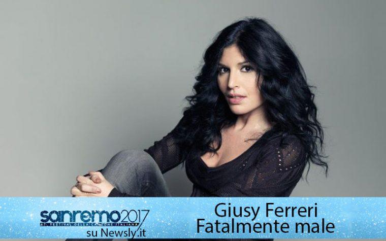 """Giusy Ferreri:""""A Sanremo ero incinta"""". Ma era il pubblico ad avere la nausea"""