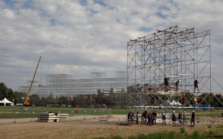 Sgomberati i fan di Vasco accampati 15 giorni prima del concerto