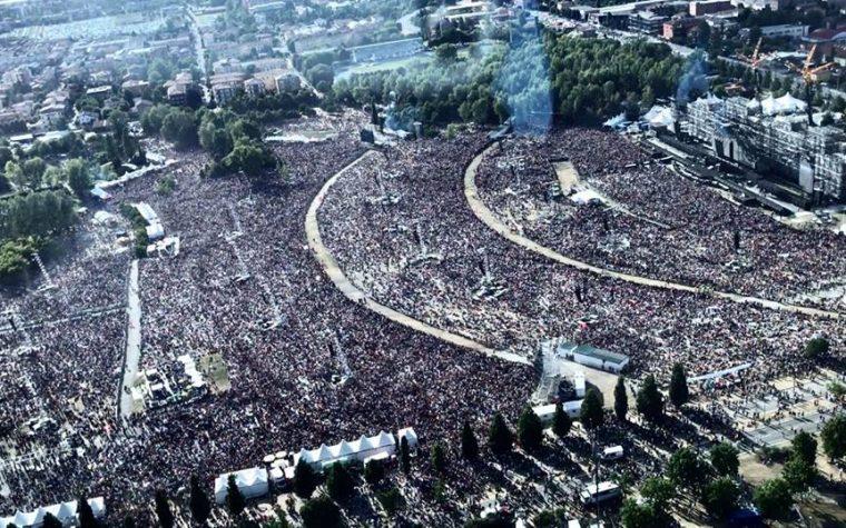 Modena Park, parte Bohemian Rhapsody e 220.000 persone aprono Shazam.
