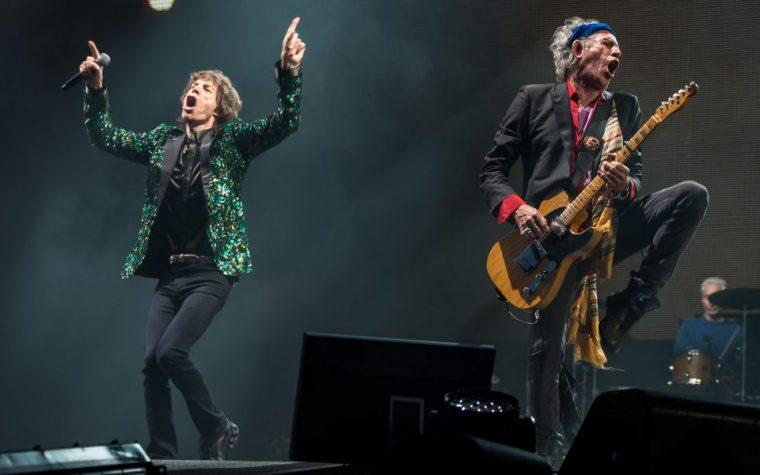 Sono riuscito a trovare last minute un biglietto per il concerto degli Stones a Lucca, solo che il posto era un po' lontano dal palco, a Firenze.