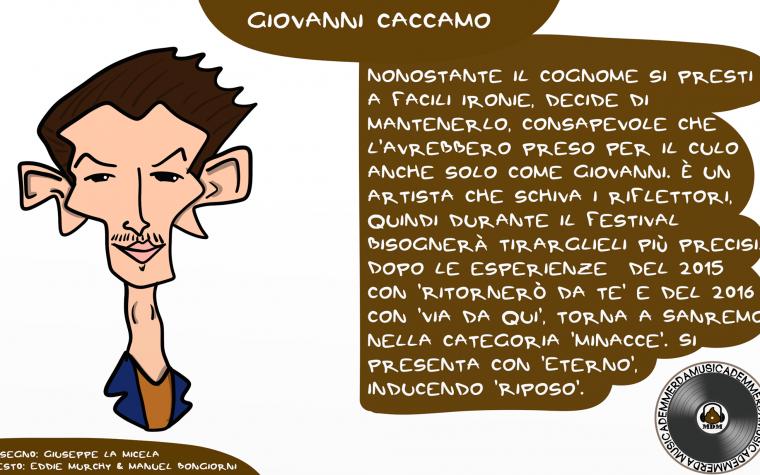 Sanremo 2018: Giovanni Caccamo