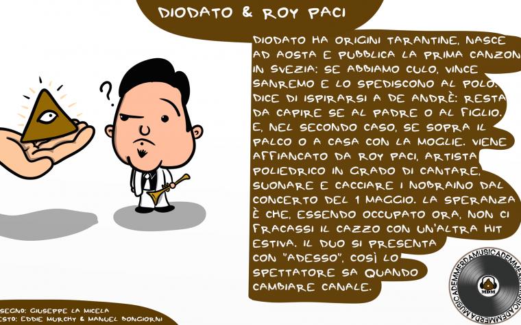 Sanremo 2018: Diodato e Roy Paci