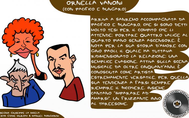 Sanremo 2018: Ornella Vanoni e i badanti